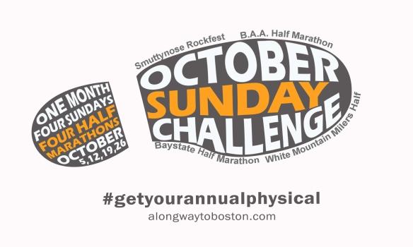 October Challenge white